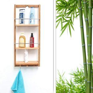Duschregal<br>aus Bambus