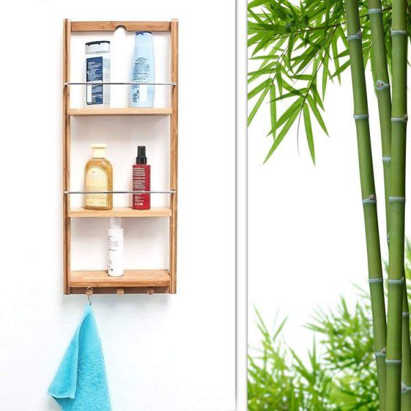 duschregal bambus