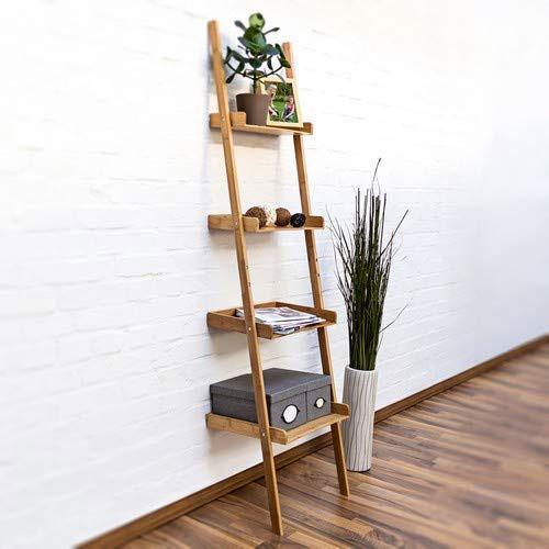 bambus leiterregal