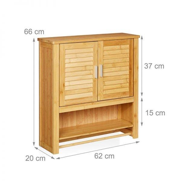 badschrank aus bambus
